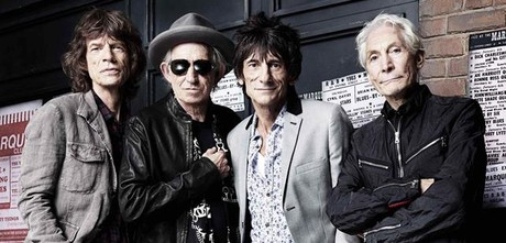 Mick Jagger, Keith Richards, Ronnie Wood y Charlie Watts, en Londres, este verano.