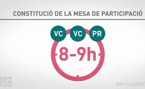 La Generalitat explica c�mo ser� el dispositivo en los locales de participaci�n.
