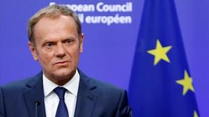 mbenach34434722 european council president donald tusk briefs the media afte160624191617