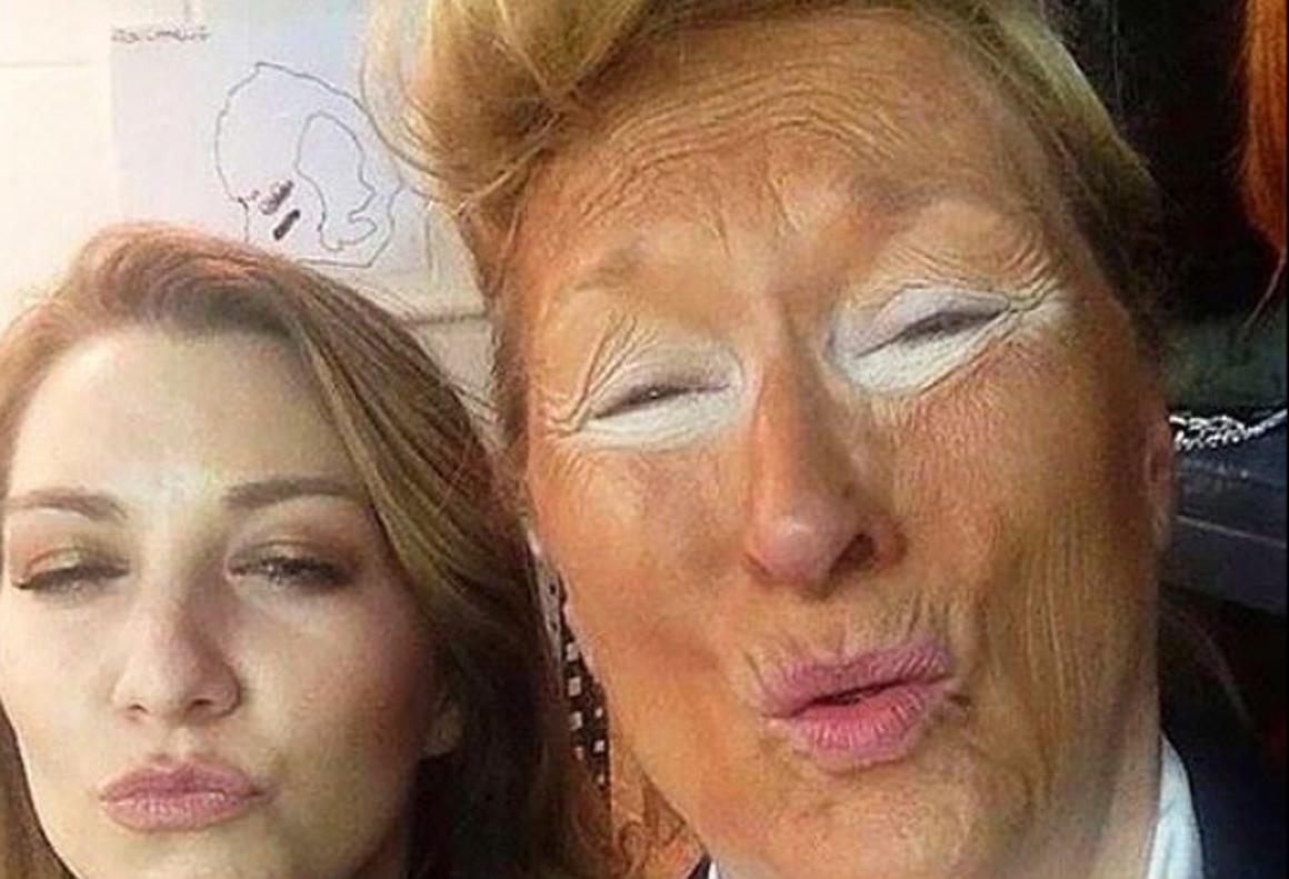 Meryl Streep se puso en la piel de Donald Trump el pasado junio en una gala benéfica en Nueva York.