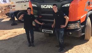 Los hermanos Márquez, listos para el GP de Aragón