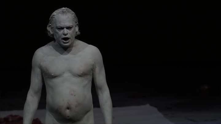 Mount Olympus. To glorify the cult of tragedy, una obra de teatro con sexo explícito