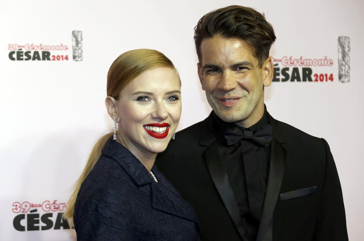 Scarlett Johansson presenta la demanda de divorci contra Romain Dauriac