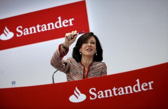 El Banco Santander va guanyar el 14,3% més fins al març, fins a 1.867 milions d'euros
