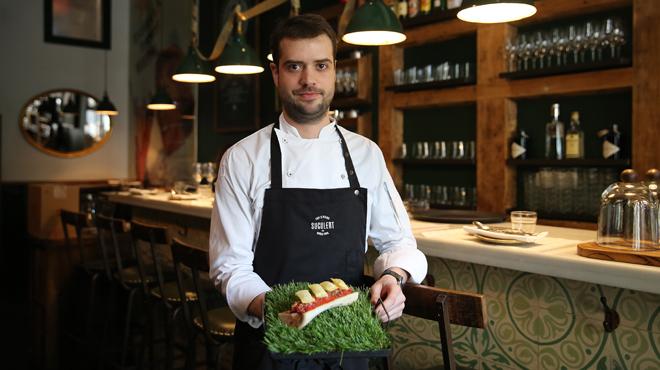 On Barcelona: Receta de Toni Romero del restaurant Suculent: 'steak tartar' con tuétano