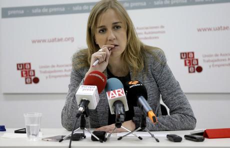 La exdiputada de IU Tania S�nchez, el pasado marzo.