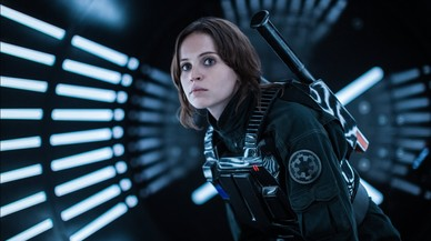 Felicity Jones interpretará a Jyn Erso, la protagonista de 'Rogue One'.