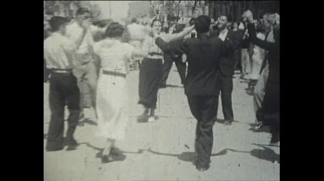 Rescatada de un desván una película inédita de las fiestas de Gràcia en 1935