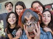 De izquierda a derecha: Manu (guitarra), Carlota (bater�a), Irene (guitarra),el Mono (bajo), Amaya (teclados)y Mari�a (voz).