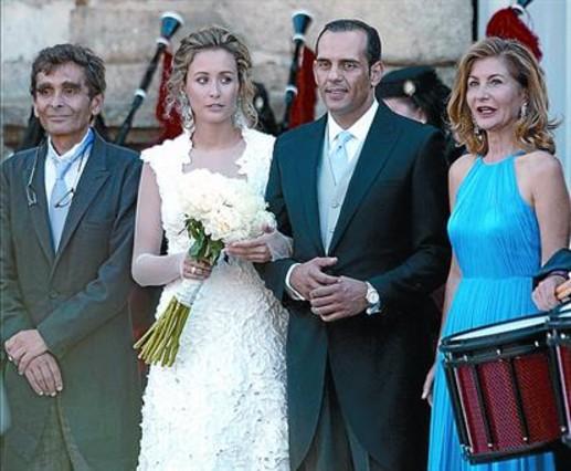 la hija de adolfo dom nguez se casa en ourense