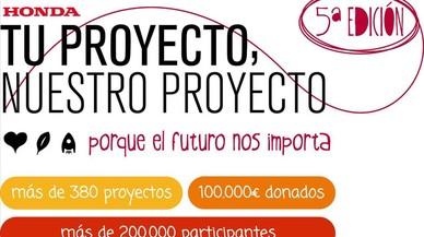 """Iniciativa Solidaria de Honda """"Tu proyecto, nuestro proyecto"""""""
