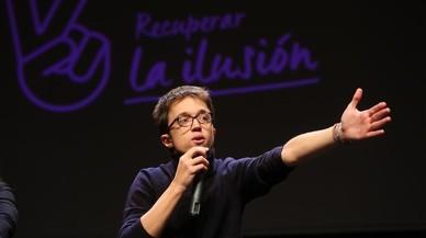 Errejón pide restar el poder de Iglesias en Podemos