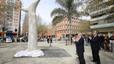 MALIP, una escultura que transmet un missatge de pau