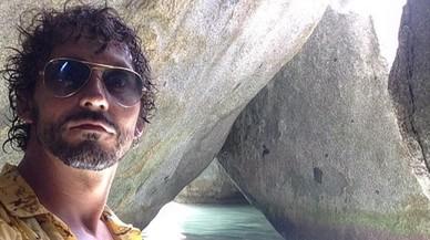 Paco León disfruta de les platges del Carib