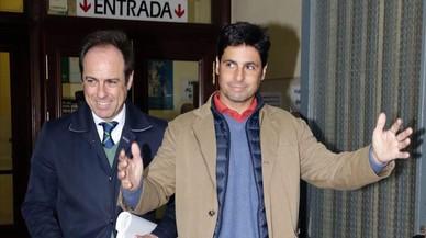 Francisco Rivera a su llegada a los juzgados de Sevilla, el pasado 17 de marzo.