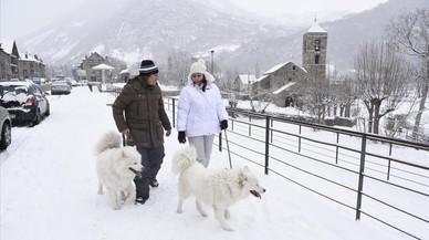 El temporal de neu i vent obliga a tancar diverses pistes d'esquí a Lleida