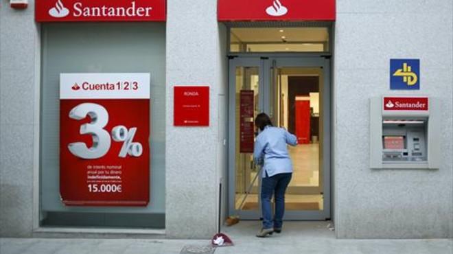 La Guardia Civil entra en la sede del Santander por el 'caso HSBC'