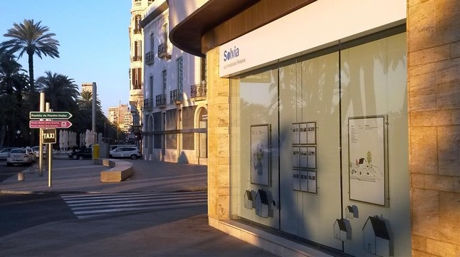 Solvia quiere ser api for Oficina tam alicante