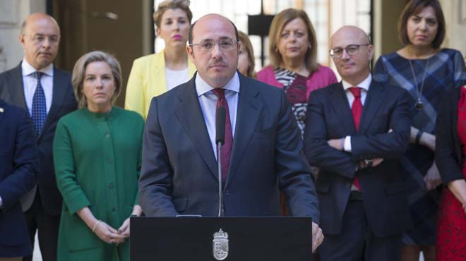 "Pedro Antonio Sánchez dimiteix per evitar un ""nefast"" tripartit a Múrcia"