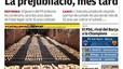El tajo a las prejubilaciones, Bárcenas y las cuentas del PP, la ilegalización de Bildu, ETA y el Papa, en portada