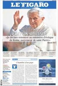 """La prensa internacional destaca """"la delicada situaci�n"""" en que la que el Papa deja a la Iglesia"""