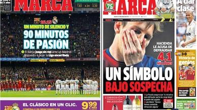 La premsa madridista encobreix Cristiano Ronaldo després d'ajusticiar Messi