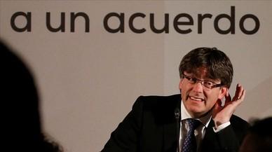 Rajoy, Puigdemont y los fuegos de artificio