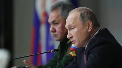 """Putin califica de """"agresiva"""" la doctrina militar de EEUU"""