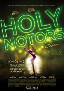 Cartel de la pel�cula 'Holy Motors'.