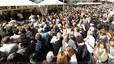 Fotografías panorámicas de la diada de Sant Jordi