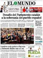 Revista de prensa, 20-9-2014