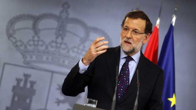 """Rajoy sobre la consulta: """"Hemos visto la intenci�n de celebrar una pseudoconsulta"""""""