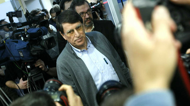 José María Odriozola, presidente de la Federación Española de Atletismo, en una imagen de archivo