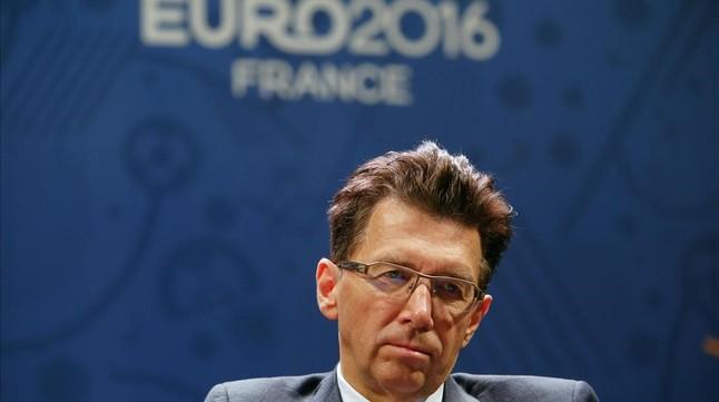 El director de operaciones de la UEFA, Martin Kallen
