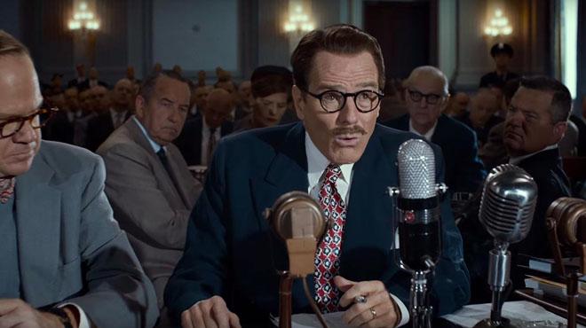 Estrenos de la semana. Tráiler de Trumbo: La lista negra de Hollywood (2015).
