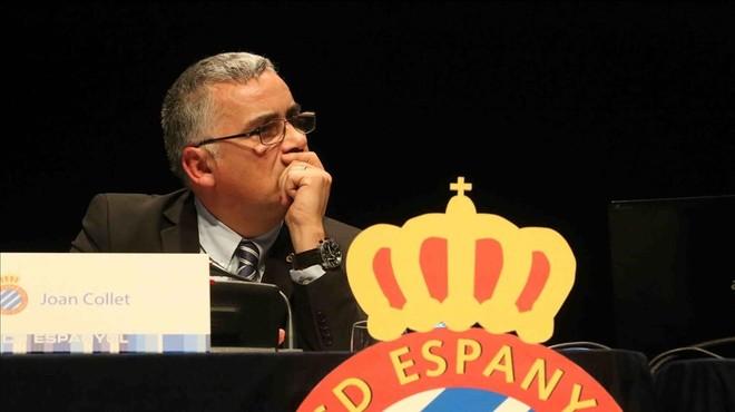 Collet lamenta que l'Espanyol no condemni l'operació contra les institucions catalanes