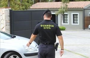 Operación policial en Lloret de Mar