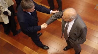 Jordi Pujol reapareix en un acte de Ximo Puig
