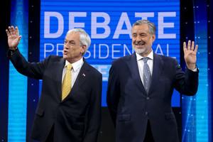 Sebastián Piñera y Alejandro Guillier.