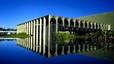 Palacio Itamaraty en Brasilia, diseñado por el arquitecto Niemeyer