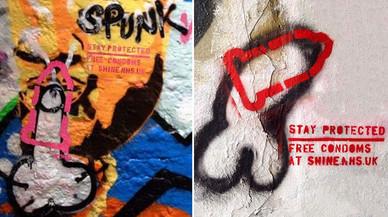 El Banksy de los condones