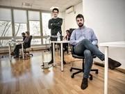 EMPRENDEDORES INMOBILIARIOS. Ignacio González y Alejandro Briceño, socios fundadores de Cliventa.
