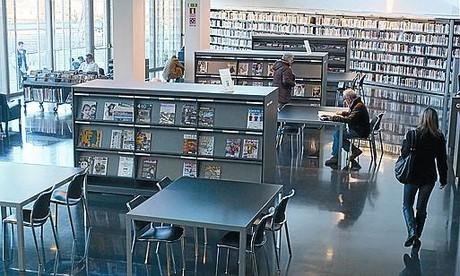 Bibliotecas a la última
