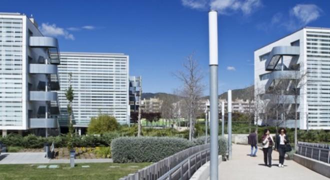 El Business Park de Viladecans donde Unilever tiene su sede en España.