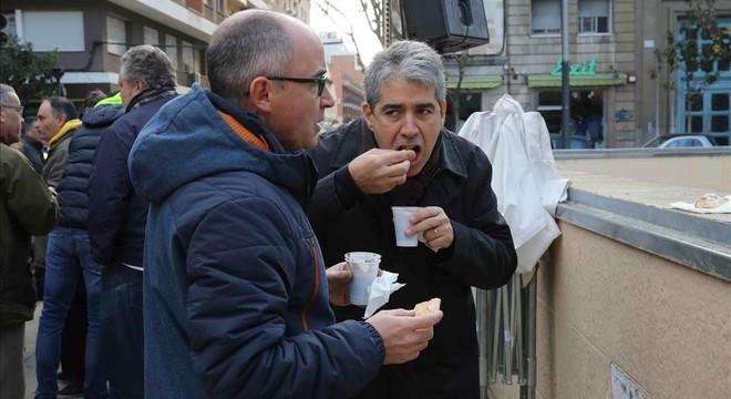 """Homs es felicita per la """"solidaritat"""" entre CDC i ERC"""