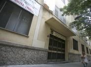 Fachada de la escuela de los Maristas en el barrio de Les Corts.