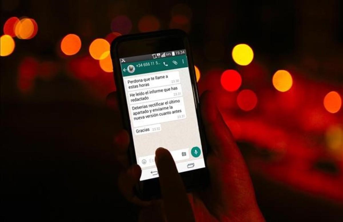 El Whatsapp i la tele causen estralls en les hores del son