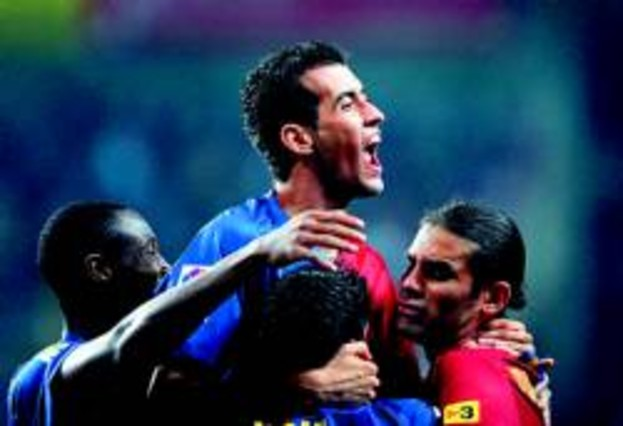 Sergio Busquets completa un viaje vertiginoso que en 8 meses le ha llevado de Tercera a la selección