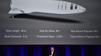 Elon Musk rediseña el plan de su misión a Marte