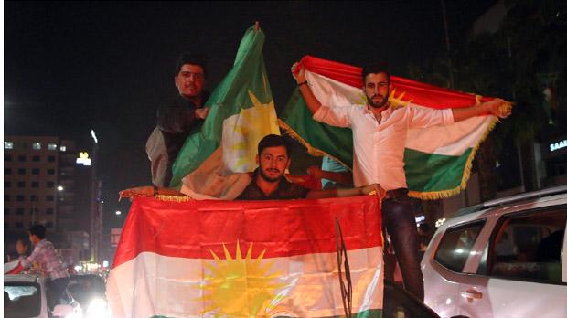 Els kurds iraquians es bolquen per la independència